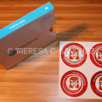 Red Tess Freelance Sticker Designs
